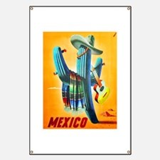 Mexico Travel Poster 10 Banner