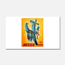 Mexico Travel Poster 10 Car Magnet 20 x 12
