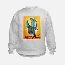 Mexico Travel Poster 10 Sweatshirt