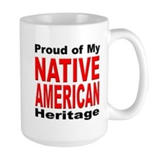 Proud Native American Heritage Mug
