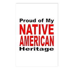 Proud Native American Heritage Postcards (Package