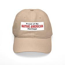 Proud Native American Heritage Cap
