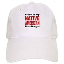 Proud Native American Heritage Baseball Cap
