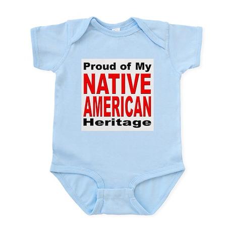 Proud Native American Heritage Infant Creeper