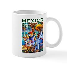 Mexico Travel Poster 3 Mug