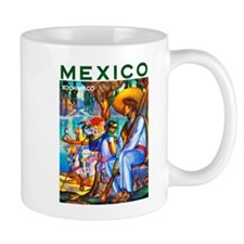 Mexico Travel Poster 3 Mug