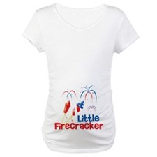 4th of July Little Firecracker Shirt