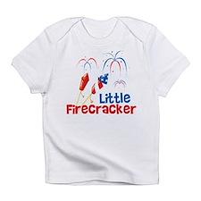 4th of July Little Firecracker Infant T-Shirt
