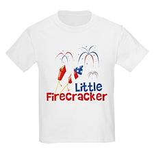 4th of July Little Firecracker T-Shirt