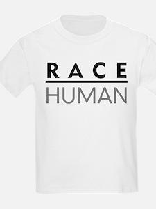 Race Human Kids T-Shirt