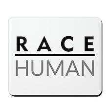Race Human Mousepad