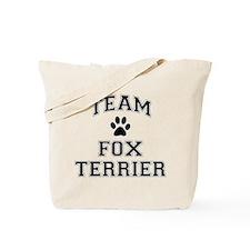 Team Fox Terrier Tote Bag