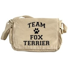 Team Fox Terrier Messenger Bag