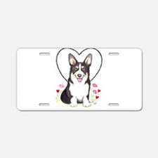 Pembroke Welsh Corgi Aluminum License Plate