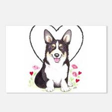 Pembroke Welsh Corgi Postcards (Package of 8)