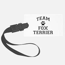 Team Fox Terrier Luggage Tag