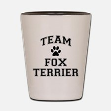 Team Fox Terrier Shot Glass
