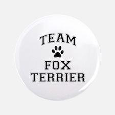 "Team Fox Terrier 3.5"" Button"