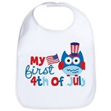 4th july Cotton Bibs