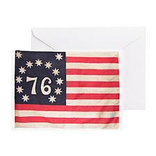 Flag of Bennington III.psd Greeting Card