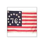 Flag of Bennington III.psd Square Sticker 3
