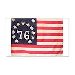 Flag of Bennington III.psd 20x12 Wall Decal