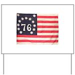 Flag of Bennington III.psd Yard Sign