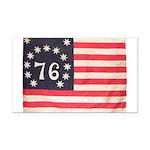 Flag of Bennington III.psd Rectangle Car Magnet