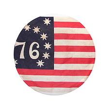 "Flag of Bennington III.psd 3.5"" Button"