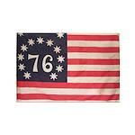 Flag of Bennington III.psd Rectangle Magnet (10 pa