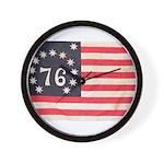 Flag of Bennington III.psd Wall Clock