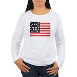 Flag of Bennington III.psd Women's Long Sleeve T-S