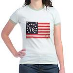Flag of Bennington III.psd Jr. Ringer T-Shirt