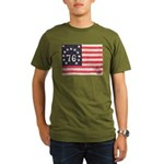 Flag of Bennington III.psd Organic Men's T-Shirt (