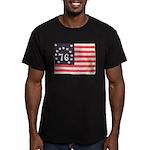 Flag of Bennington III.psd Men's Fitted T-Shirt (d