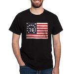 Flag of Bennington III.psd Dark T-Shirt