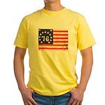 Flag of Bennington III.psd Yellow T-Shirt