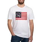 Flag of Bennington III.psd Fitted T-Shirt