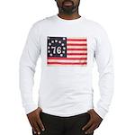 Flag of Bennington III.psd Long Sleeve T-Shirt