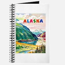 Alaska Travel Poster 2 Journal