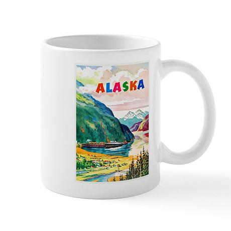 Alaska Travel Poster 2 Mug