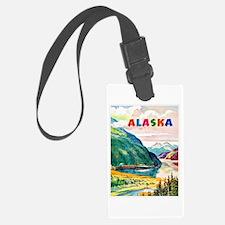 Alaska Travel Poster 2 Luggage Tag
