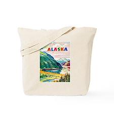 Alaska Travel Poster 2 Tote Bag