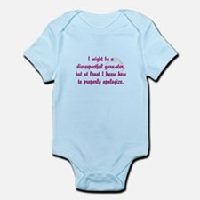 disrespectfulyarnster Infant Bodysuit