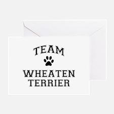 Team Wheaten Terrier Greeting Card