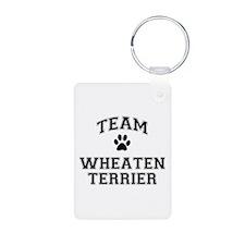 Team Wheaten Terrier Keychains