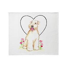 Soft Coated Wheaten Terrier Throw Blanket