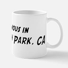 Famous in Huntington Park Mug