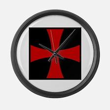 Templar 2 Large Wall Clock