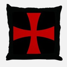 Templar 2 Throw Pillow